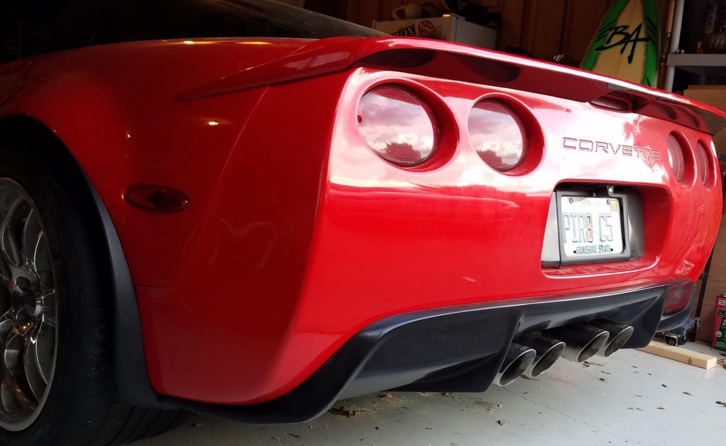 2005 Corvette For Sale >> Stealth C5 Rear Diffuser - Urethane - Corvette Creationz
